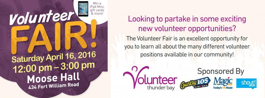 NEW Volunteer Fair