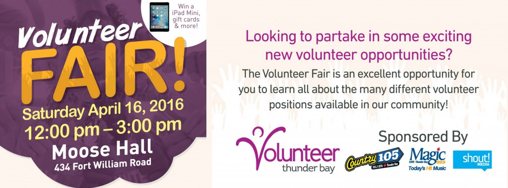 NEW Volunteer Fair