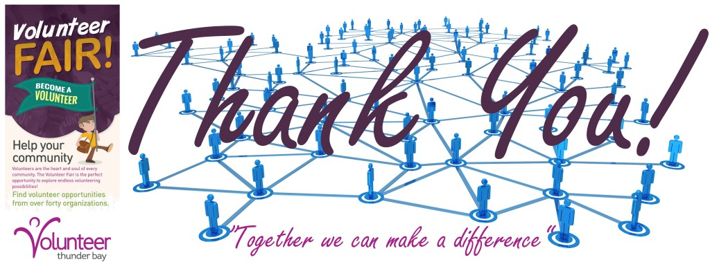 Volunteer Fair Thanks