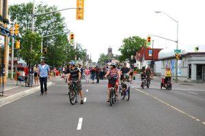 Open Streets - Street activity